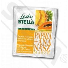 Ananász-Papaya Bőrmegújító lehúzható alginát pormaszk 6g