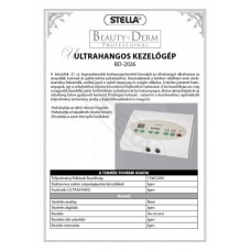 Beauty Derm Ultrahangos kozmetikai gép