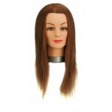 Babafej Josephine kevert hajjal 35-40cm-es 50% humán, 50% szintetikus hajból